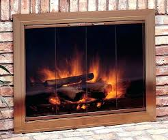 fireplace glass doors open or closed wood stove door glass full size of wood stove door fireplace glass