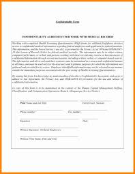 Client Confidentiality Agreement Template Best Of Confidentiality ...