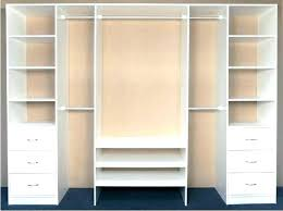 full size of white closet organizers target wood shelving shoe rack with drawers and shelves medium