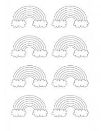 Small Picture Free Printable Friday Rainbows Free printable Rainbows and