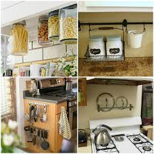 kitchen counter organization ideas