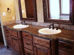 Marble Bathroom Sink Countertop Stunning Bathroom With White Vanities And Undermount Sinks Also