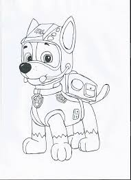 Chase Paw Patrol Coloring Page Chase Paw Patrol Coloring Pages