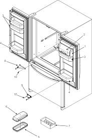 Jenn air model jfd2589kes bottom mount refrigerator genuine parts