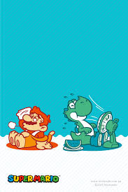 nintendo of australia releases adorable mario and yoshi wallpaper for summer