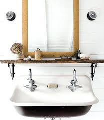 trough sink bathroom trough sinks colored powder coating undermount trough bathroom sink with two faucets