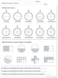 Interactive Fractions Math Math Online Graph Paper
