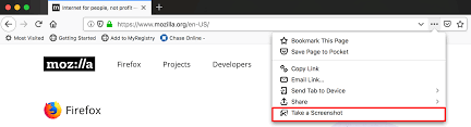 Firefox Screenshots | How to | Mozilla Support