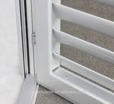 Sliding Shutter Doorways Sliding Shutters  LouvreTec Discover Aluminum Louvered Exterior Doors