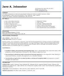 Software Test Engineer Resume Automation Test Engineer Resume