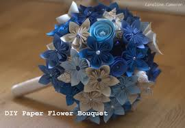 Paper Origami Flower Bouquet Diy Kusudama Paper Flower Bouquet Caroline Cameron