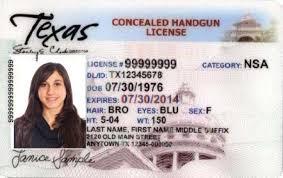 Classes Texas - License Handgun Concealed