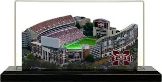 Mississippi State Football 3d Seating Chart Home Fields Mississippi State Bulldogs Davis Wade Stadium