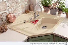 💙 40 Cool Corner Kitchen Sink Designs Home Design Lover Simple Kitchen Designs With Corner Sinks