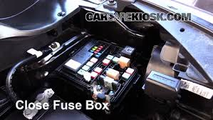 replace a fuse 2014 2016 kia soul 2014 kia soul 2 0l 4 cyl 6 replace cover secure the cover and test component