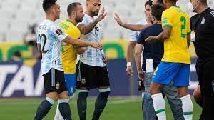 se suspende el partido entre Brasil ...