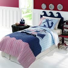 Amazon.com - FADFAY Home Textile Kids Boys Patchwork Quilt Set Pirates Boat  Ocean Bedding