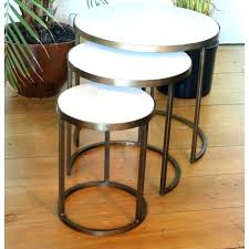 round nesting coffee table coffee table with nesting stools coffee table nesting white marble nesting coffee