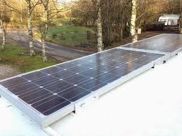 200w solar panel install