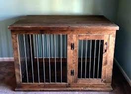 wooden crate furniture. Dog Crate Table Pet Furniture End Cool Design Kennel Custom . Wooden