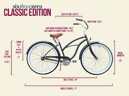 Cruiser Bike Size Chart Beachbikes January 2013