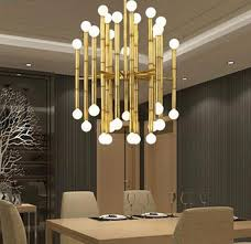 modern designer lighting. Modern Bamboo Droplight Metal Pendant Light At Lifeix Design Designer Lighting L