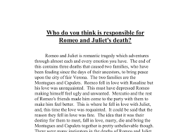 the best and worst topics for romeo and juliet death essay romeo and juliet tragedy essay year 11 hsc english
