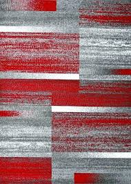red gray rug red gray modern abstract contemporary area rugs red yellow gray rug