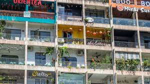 The Famous Cafe Apartment At Nguyen Hue Walking Street In Ho Chi