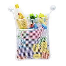 yaye bath toy organizer bath organizer set mesh bath toy organizer 2 ultra strong hooks