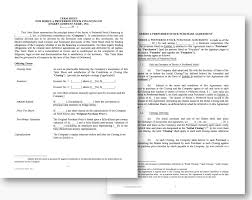 Investment Contract Form Simple Agreement Business Template Sample