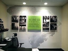 office wall decor ideas. Office Wall Decor Ideas Home  Delectable Inspiration .