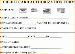 Credit Card Authorization Form Word Forms Credit Card Authorization Incredible Form Template Templates
