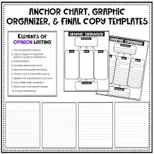 Fact Vs Opinion Anchor Chart Opinion Writing Prompts Opinion Writing Passages