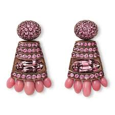 hemmerle pink conch pearl earrings