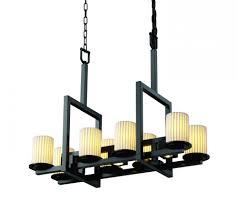 dakota 8 up 3 downlight bridge chandelier