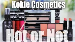 new walmart makeup brand review kokie cosmetics