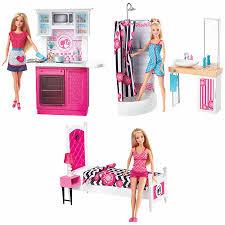 Barbie Kitchen Furniture Barbie Doll Furniture Set Assorted Toys R Us Australia