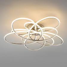 Потолочный <b>светильник Eurosvet 90143/5 хром</b> Spring a043764
