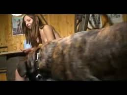 Girl fucks dog 18