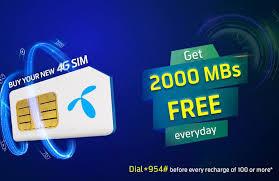 Telenor Recharge Chart Telenor New Sim Offer 2019 Buy New Sim Enjoy 2gb Data