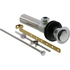 repair bathroom sink drain stopper delta metal pop up assembly in chrome the home depot drains assemblies replace bath