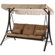 mainstays lawson ridge converting outdoor swing hammock seats 3 com