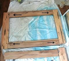 wood mirror frame kit wood mirror frame s barn diy