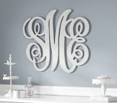 bold design initial wall decor ideas for nursery wood monogram monogram letters for
