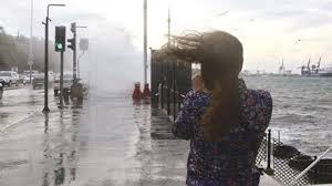 Meteoroloji'den İstanbul için sarı alarm! Fırtına geri dönüyor