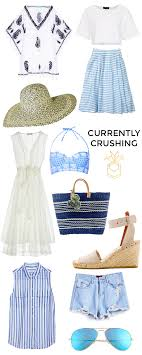 Packing List For Summer Vacation Currently Crushing Maine Packing List Style Cusp