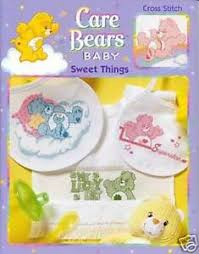 Details About Care Bears Baby Sweet Things Cross Stitch Chart Pattern Craft Idea Book 3566