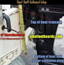 Outboard Motor Shaft Length Chart Long Shaft Outboards And Short Shaft Outboard Motors