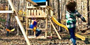 wood swing set plans do it yourself wooden swing set plans australia